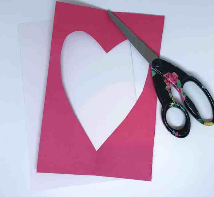 Valentine Craft step 1