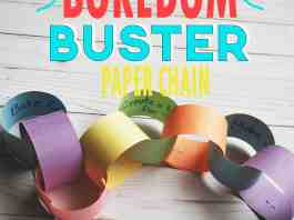 BOREDOM BUSTER ACTIVITIES FOR KIDS
