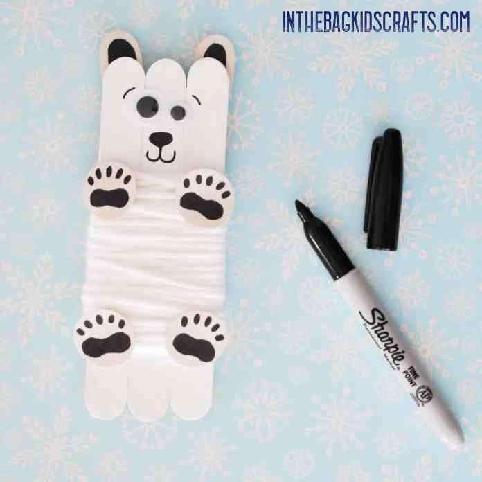 polar bear step 4b