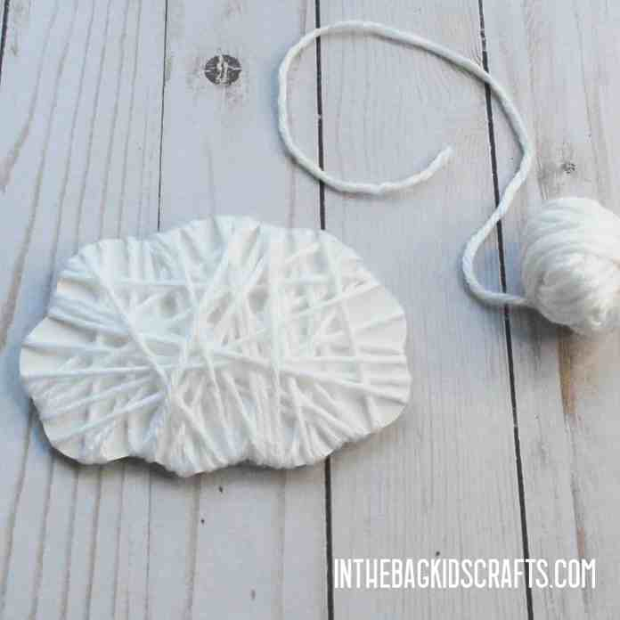 EASY SHEEP CRAFT FOR KIDS STEP 2