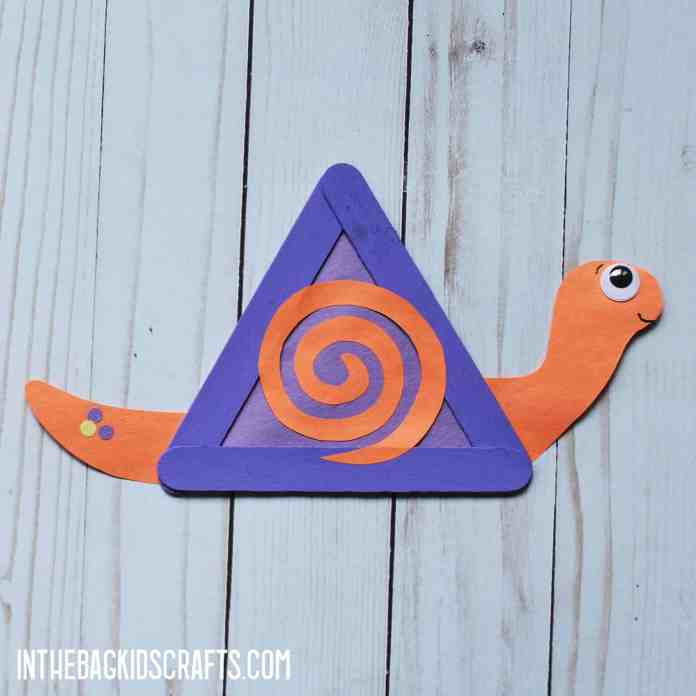 INSECT KIDS CRAFTS SNAIL