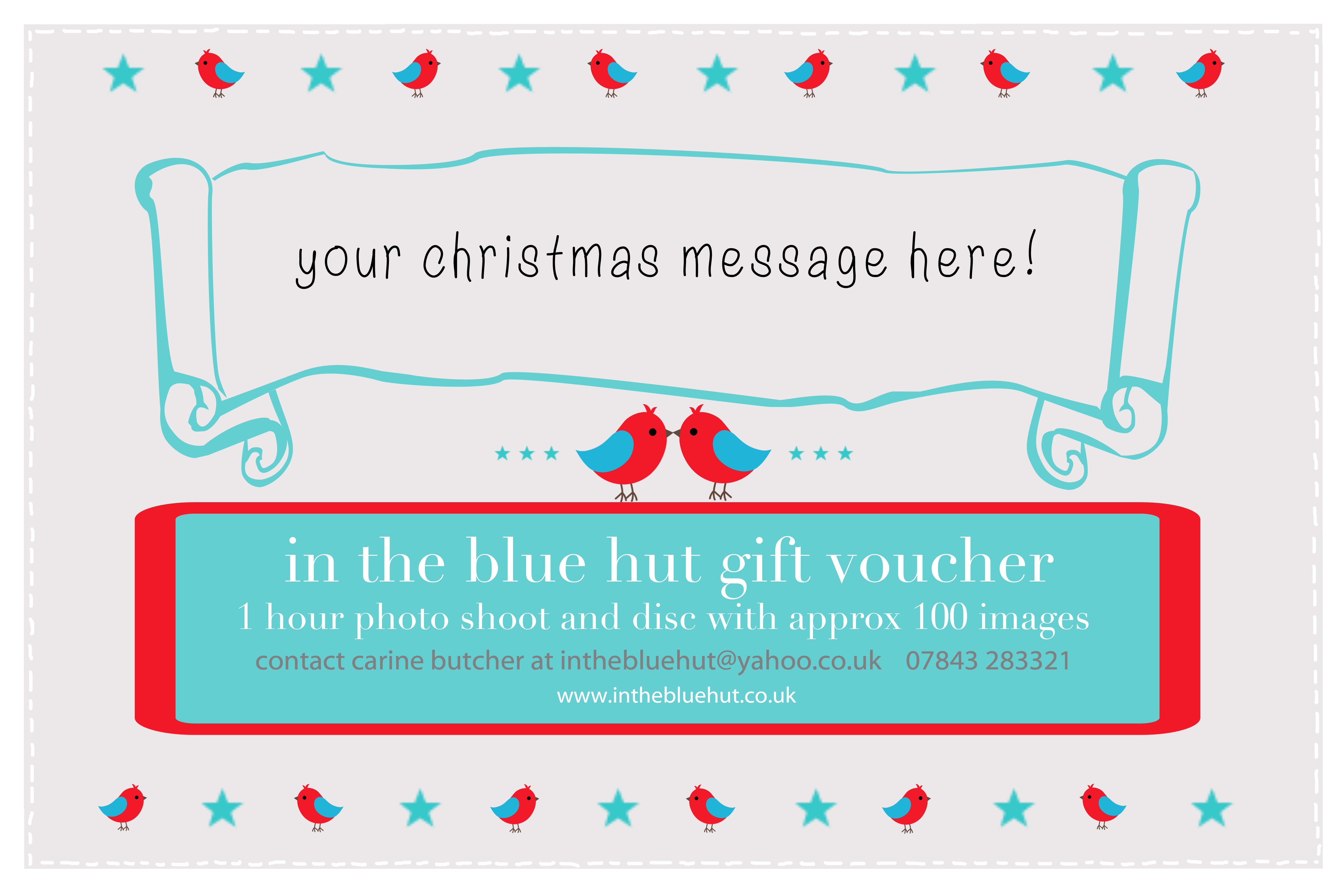 christmas coupons template – Gift Coupons Template