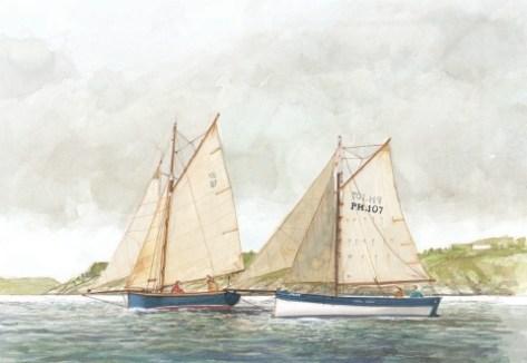 Ian Heard painting