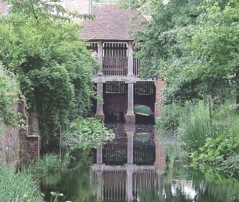 Vita Sackville-West's Sissinghurst boat shed