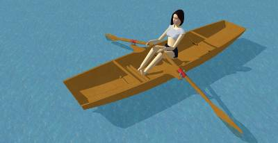SketchUp models of some of my free boat designs | intheboatshed.net