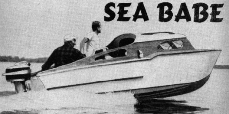 Sea Babe motor launch A William Jackson period classic at the Svenson website