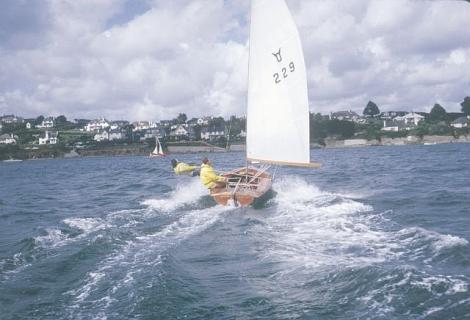Ian Proctor Osprey dinghy