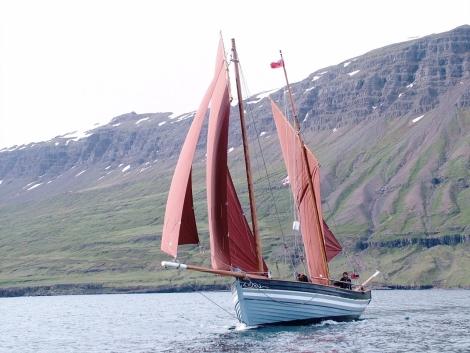 Alert at Sedisfjordur, Iceland
