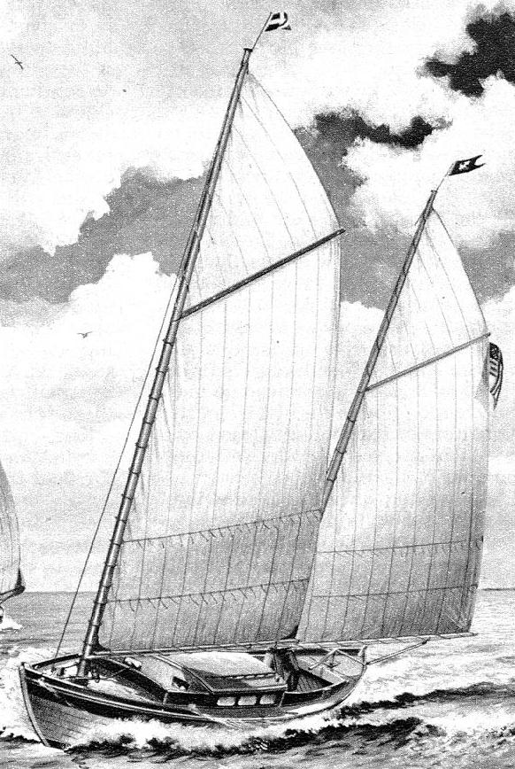 Howard Irving Chappelle's intriguing small ketch Southwind – intheboatshed.net