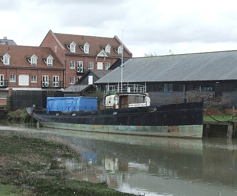 1902 pilot cutter Vigilant at Faversham