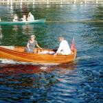 Bumble at the Stuart Turner centenary regatta