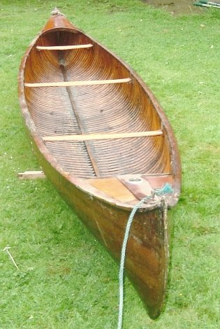1910 Canadian-built Canadian canoe for sale in Tunbridge Wells
