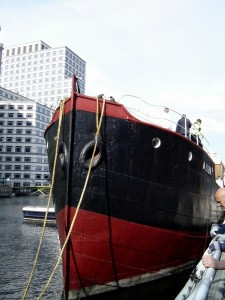 SS Robin, the oldest complete steam ship in the world