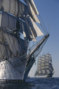 Tall ships exhibition at the National Maritime Museum Cornwall