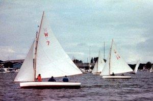 Waveney One-Designs in action