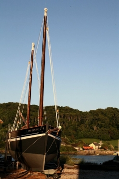 Pete Goss's new boat Spirit of Mystery