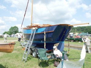 Laurent Giles-designed Sandpiper wins the Watercraft Boat Building Awards