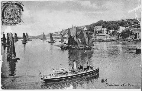 Torquay postcard, dated 1914