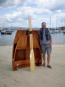 Ian Thompson folding dinghy Nestaway