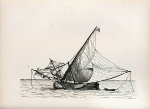 muleta, muletta, moletta, portugal, fishing boat, trawler, lateener, tagus, keble chatterton, water-sails, lugger, st paul, artemon,