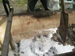 molten-lead-in-the-bath