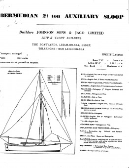Jonson + Jago 2.5 tonner