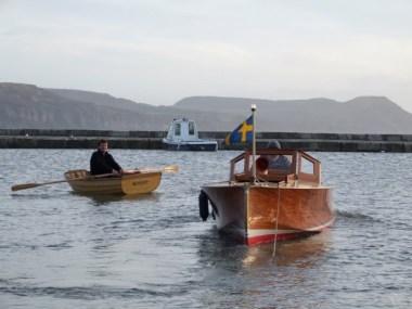 Lyme Regis Boat Building Academy launch Dec 5th 2009 022