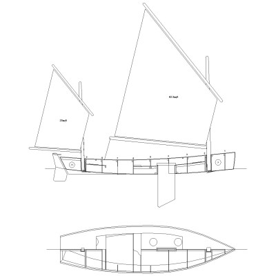 Light Trow model package plywood boat Gavin Atkin boat plan