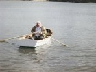 free boat plan, plywood boat, stitch and glue boat, tack and tape boat, rowing boat