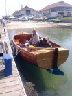 west country, motor launch, clinker, nick smith, louise, boatbuilding, boatbuilder, clinker, traditional