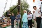 tjalk, dutch barge, sailing boat, holland, nordhorn, jantje