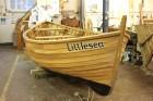 boat, boat building academy, clinker, dorset, gail mcgarva, launch, lerret, littlesea, lyme regis, vera