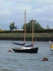 unusual schooner - who designed and built her?