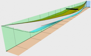 1883 Southwest Greenland canoe digitised plans