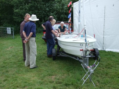 Frank and Margaret Dye at the Beale Park Thames Boat Show
