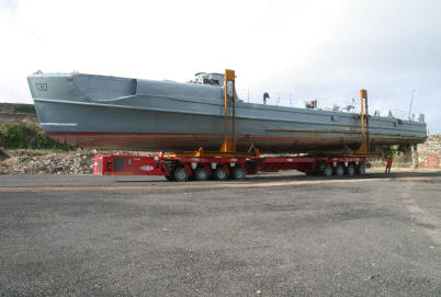 Schnellboot S130 - the last remaining Schnellboot or E-Boat