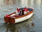 Bristol 22 motor launch built by Win Cnoops at Star Yachts