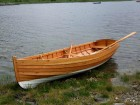 Guillemot rowing boat designed by Iain Oughtred and adapted by Adrian Morgan