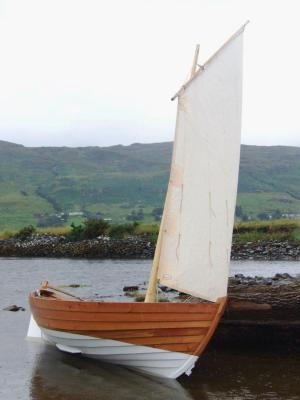 Norwegian-derived 15ft boat designed by Adrian Morgan