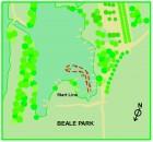 beale park cordless canoe challenge course