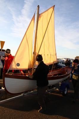Derek Thompson LRPS - Mark Cotterill Whitehall skiff on parade