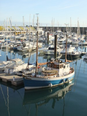 Fishing boat in Brighton Marina