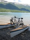 Summer on Lake Rotoiti - photos from Paul Mullings - pedal powered catamaran