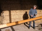 Stirling & Son Victorian cutter Integrity finishing the 24ft bowsprit