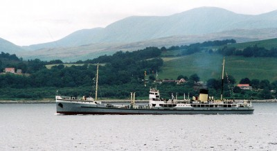 SS Shieldhall on the Clyde 2005