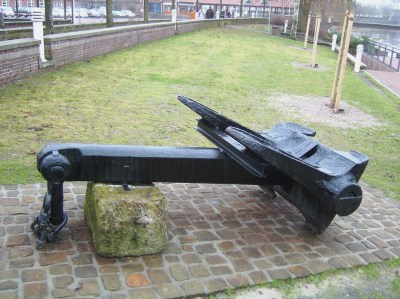 Nordhorn anchor from Byers foundry, Sunderland