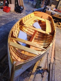 Iain Oughtred-designed Tammie Norrie built  by Adrian Morgan of Viking Boats