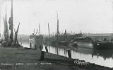 Faversham Creek, showing shipyards 1940