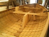 Marcus Lewis Boat Builder Mayflower dinghy