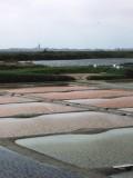 Salt pans at Guerande, Brittany